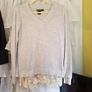 Miss Chievous NWT gray top